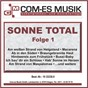 Compilation Sonne total, folge 1 avec Careaga, Möller, Meinunger / O Melley / Niko / Erl, Köhler, Jeglitz / DJ S Bank...