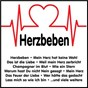 Compilation Herzbeben avec Dave Heyden / Corina Sommer / Roy Rens / Ulli Bastian / Sonja Mildner...