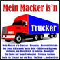 Compilation Mein macker is'N trucker avec Tony Cajee S Country Five / Mahlzahn / Reibo / Mary Mcallan / Gábriel...