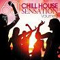 Compilation Chill house sensation, vol. 03 (60 fantastic summer tunes) avec Gee Cee / Team Deluxe / DJ Z / DJ Pallas / DJ Zoia...