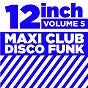 "Compilation 12"" maxi club disco funk, vol. 5 avec Alonzo Miller / J. Thompson / Gene Chandler / Haywood / Leon Haywood..."