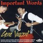 Album Important words de Gene Vincent