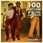Compilation 100 rhythm and blues classics / , vol. 1 avec Buddy Skipper / Big Mama Thornton / Ted Taylor / Etta James / King Bobby...