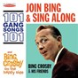 Album Join bing and sing along: 101 gang songs / on the happy side de Bing Crosby