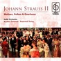 Album Johann Strauss II Waltzes, Polkas & Overtures de Bramwell Tovey / The Hallé Orchestra / Bryden Thomson / Johann Strauss JR. / Edouard Strauss