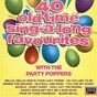 Album 40 old time sing- a-long favourites de The Party Poppers
