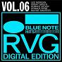 Compilation Blue note hits! - vol. 6 (rudy van gelder digital edition) avec Grant Green / Lee Morgan / Horace Silver / Donald Byrd / Wayne Shorter...