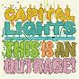Album This is an outrage! de Capital Lights